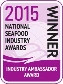 NSIA WINNER 2015 Industry Ambassador